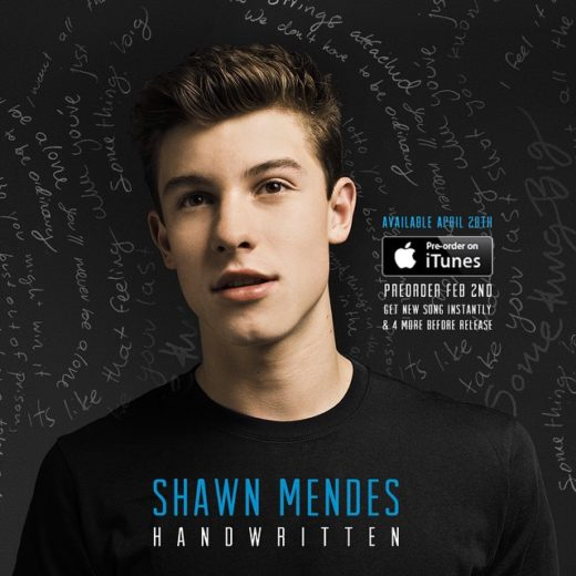 Shawn Mendes anuncia primeiro álbum
