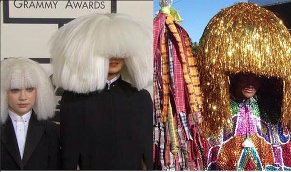Meme Sia no Grammy 2015