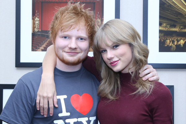 taylor swift e ed sheeran