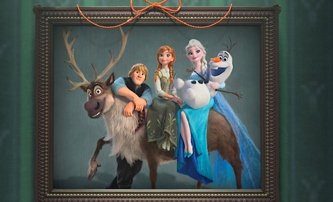 turma do frozen