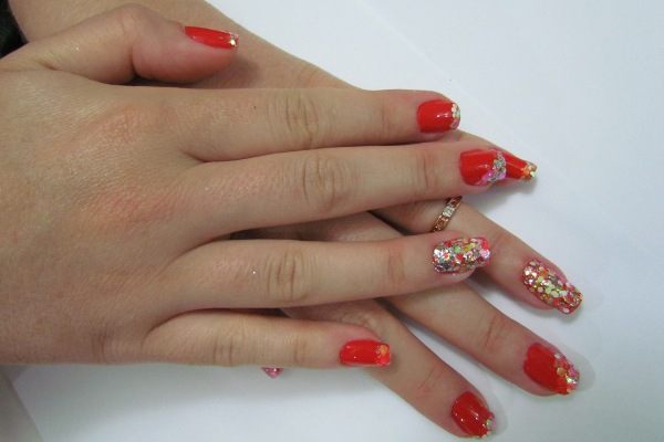 unhas com glitter colorido (3)