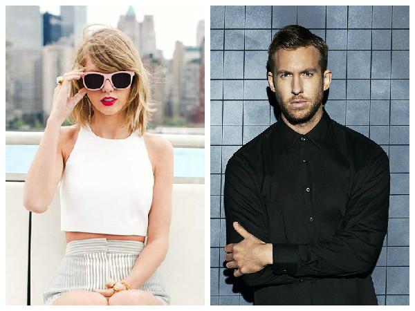 Taylor Swift e Calvin Harris curtem show juntos