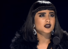 "Natalia Kills e Willy Moon pegam pesado com candidato do ""The X-Factor"" ."
