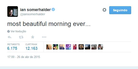 Site afirma que Ian Somerhalder e Nikki Reed se casaram