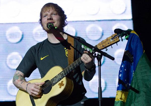 Ed Sheeran - show em São Paulo no Espaço das Américas