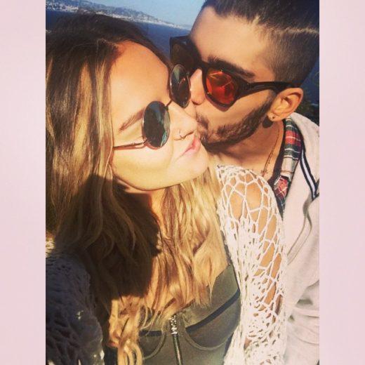 Zayn Malik e Perrie Edwards curtem feriado juntos