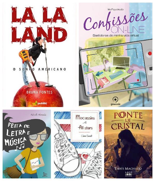 10 livros de novas autoras que você PRECISA conhecer!
