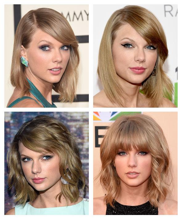Cabelo de Taylor Swift