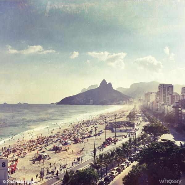 Nikki Reed posta foto e declara seu amor pelo Brasil no Instagram