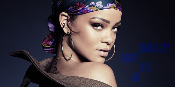 "Rihanna apresenta ""Bitch Better Have My Money"" no programa Saturday Night Live"