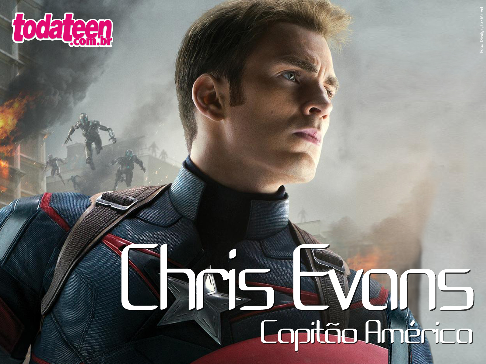Chris Evans Wallpaper (Fullscreen)