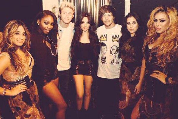 Fifth Harmony se apresenta no Britain's Got More Talent e curtem bastidores ao lado de Niall Horan e Louis Tomlinsom