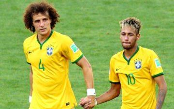 Copa do Mundo no Brasil: Davi Luis e Neymar
