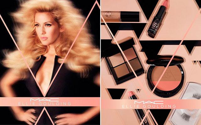 Ellie Goulding lança coleção de maquiagem com a M.A.C