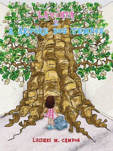 livro lavinia e a árvore dos tempos