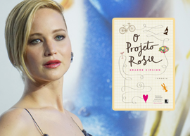 Jennifer Lawrence será protagonista da adaptação cinematográfica do livro 'O Projeto Rosie'