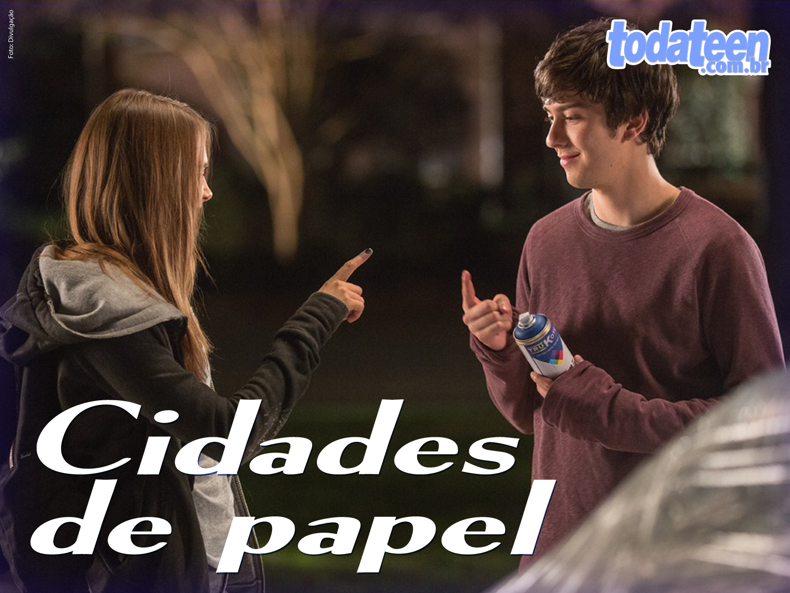 Cidades de Papel Wallpaper (Fullscreen)