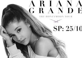 Ariana Grande vai fazer show em São Paulo em Outubro!