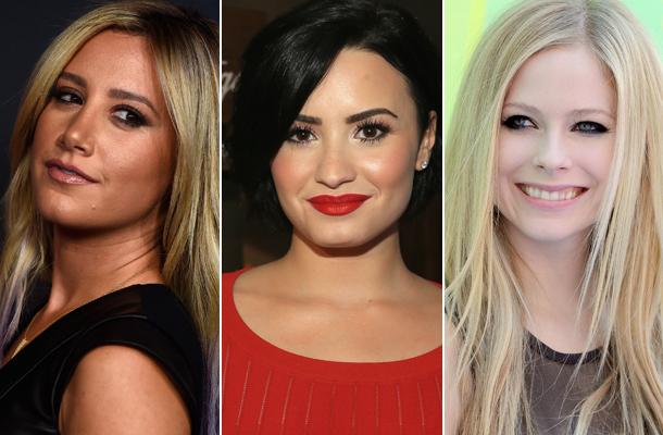 Ashley Tisdale, Demi Lovato e Avril Lavigne irão dublar animação da Disney