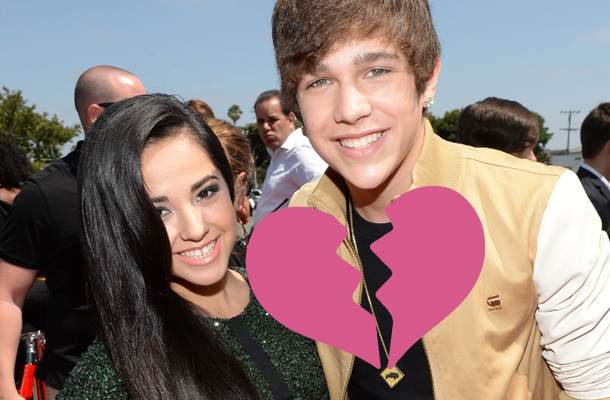 Austin Mahone confirma o fim do namoro com Becky G