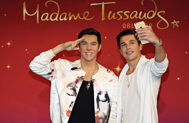 Austin Mahone ganha estátua de cera no Madame Tussauds