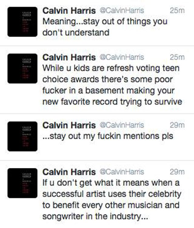 Zayn Malik e Calvin Harris brigam no Twitter por causa de Taylor Swift