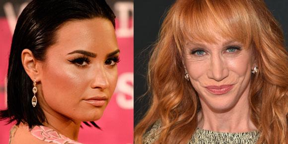 Kathy Griffin critica Demi Lovato no Twitter após apresentação do VMA