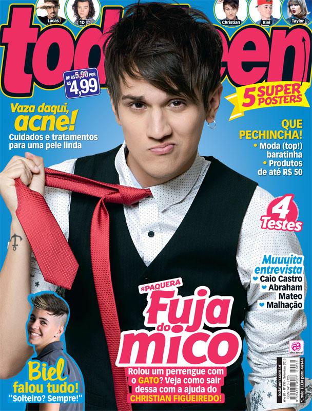 Capa da Revista Todateen, edição 238 - 04/09/2015