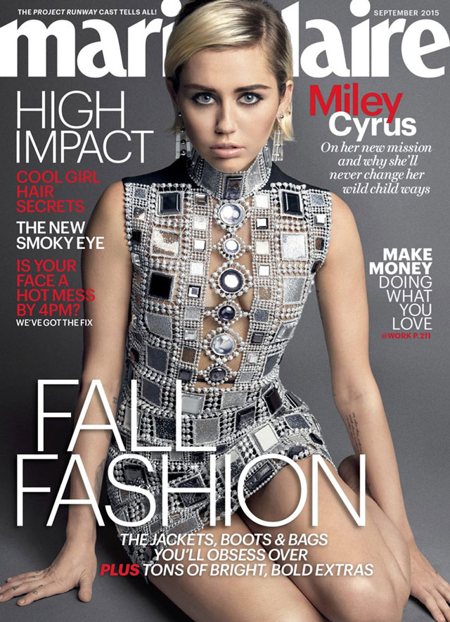 miley cyrus na marie claire