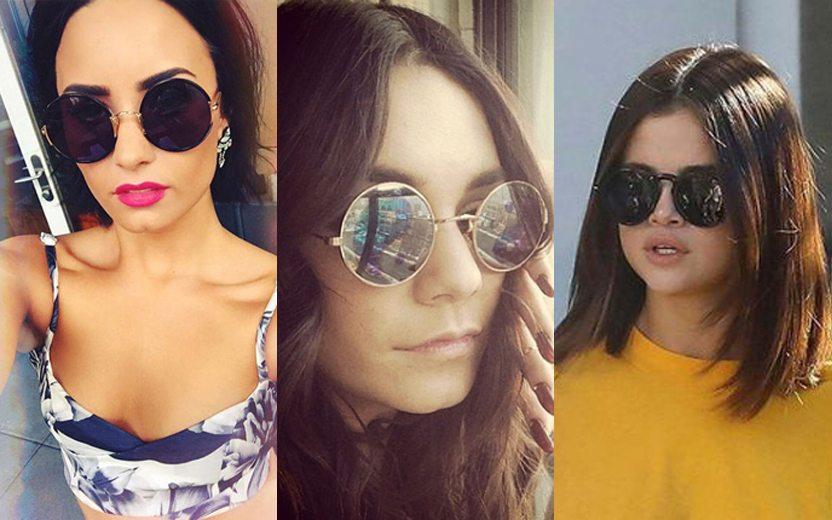 0f0bd0ff52a56 Óculos redondos  inspire-se nas armações das famosas!