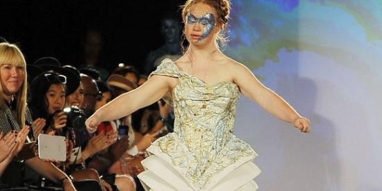 Madeline Stuart no New York Fashion Week