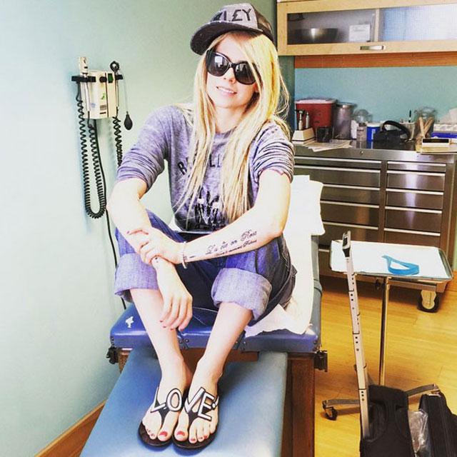 Avril Lavigne fala sobre sua saúde no Instagram