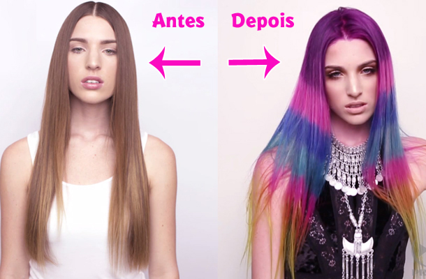 Color Block Hair: Saiba tudo sobre essa moda!