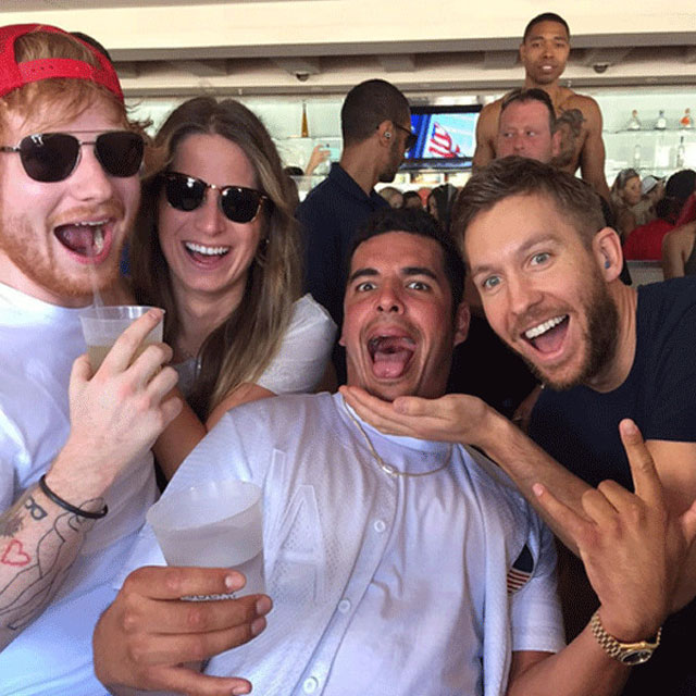 Rumor: Ed Sheeran estaria namorando jogadora de hóquei Cherry Seaborn
