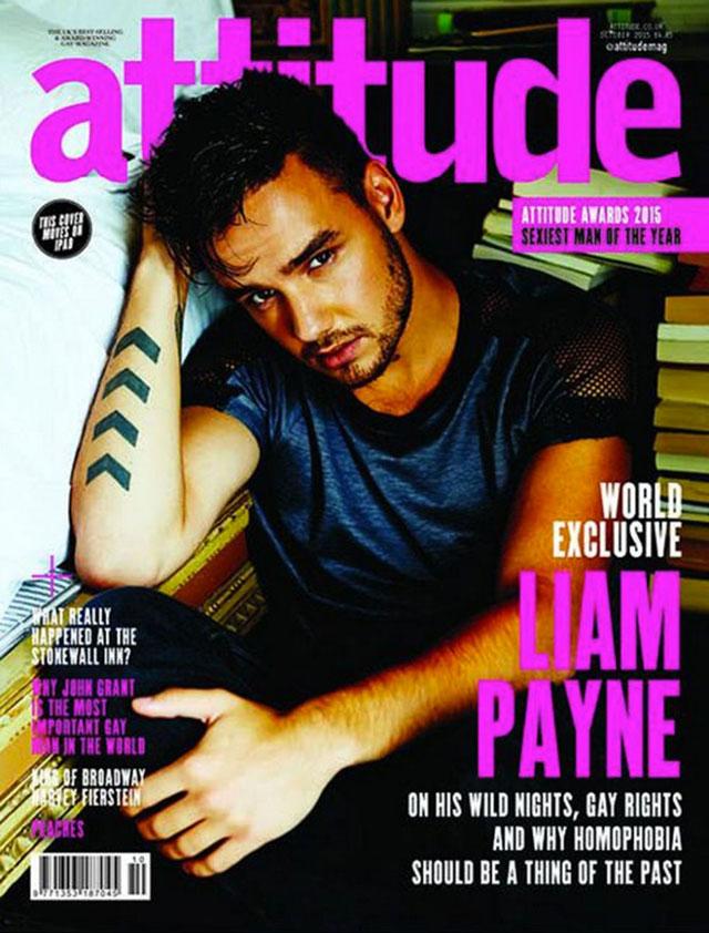 Veja Liam Payne maravilhoso na capa da revista Attitude