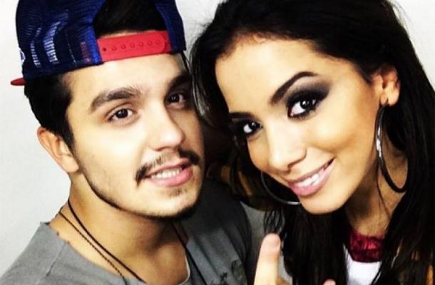 Anitta e Luan Santana pretendem lançar música juntos