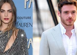 """Richard Madden diz que Cara Delevingne é """"não profissional"""" e atriz responde crítica no Twitter"""