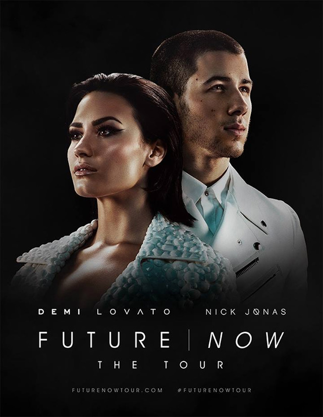 Nick Jonas e Demi Lovato anunciam turnê em conjunto