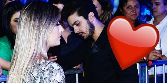 Luan Santana e Jade Magalhães reatam namoro