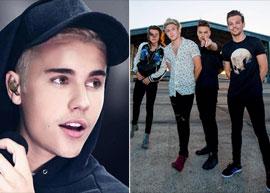 Justin Bieber diz que One Direction está se promovendo em cima dele
