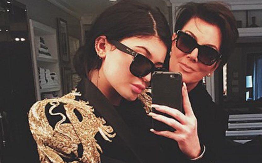 Como se dar bem com os pais: Kris e Kylie Jenner