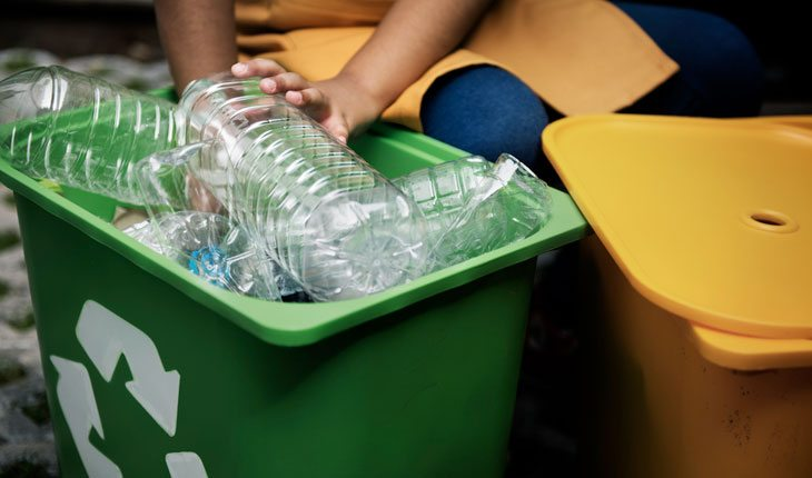 Ajudar o mundo: reciclagem