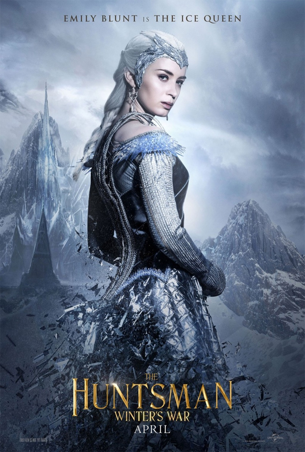 """Veja os primeiros pôsteres de """"O Caçador e A Rainha do Gelo"""""""