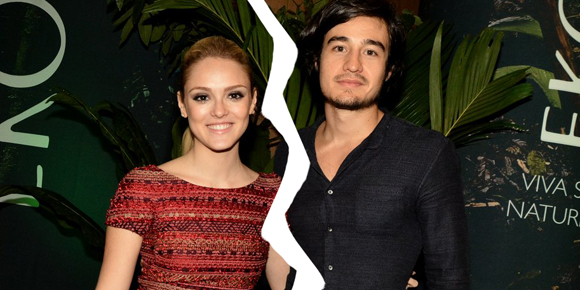 Isabelle Drummond e Tiago Iorc terminam o namoro!