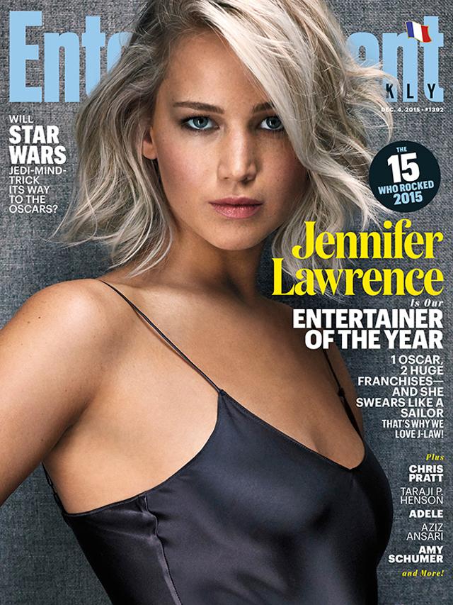 "Revista elege Jennifer Lawrence a ""Artista do Ano"""