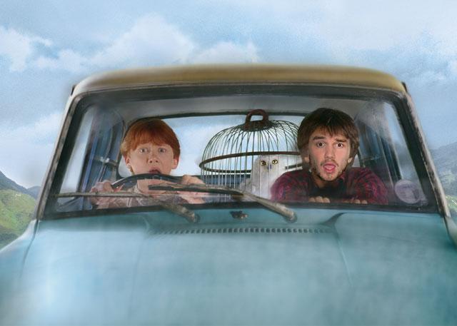 Liam Payne compra o carro voador de Harry Potter!