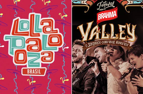 Teste: Lollapalooza Brasil ou Brahma Valley?