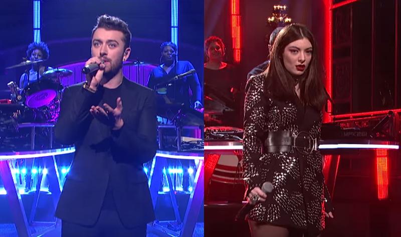 Lorde e Sam Smith se apresentam no Saturday Night Live