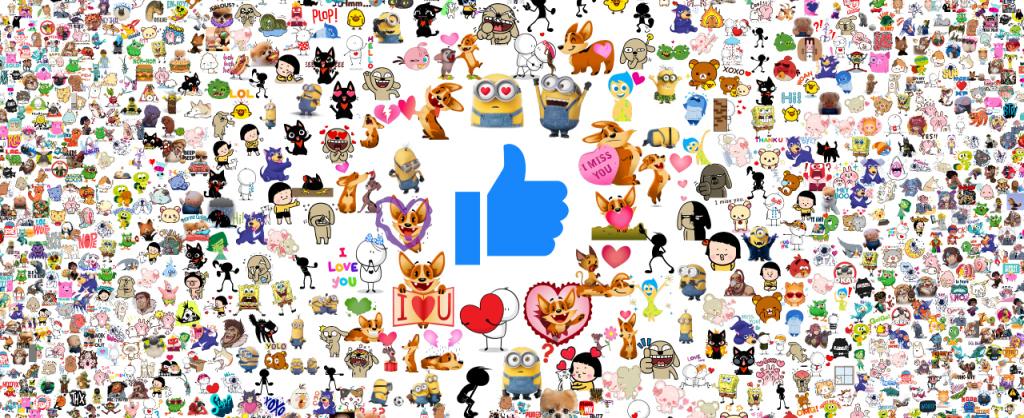 As 10 figurinhas mais utilizadas no Facebook em 2015