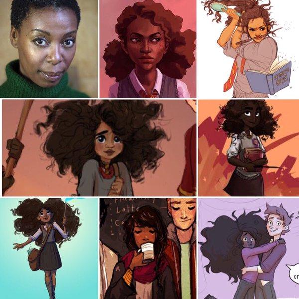 Hermione Granger negra